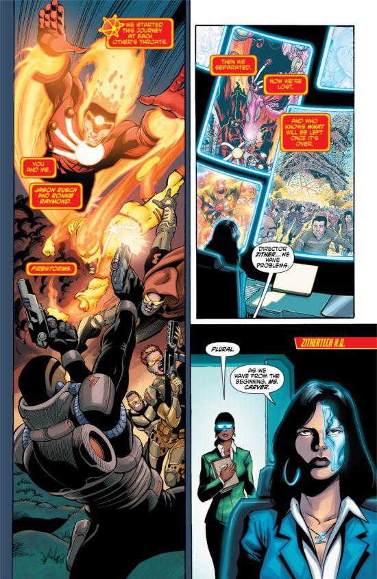 Firestorm #11 Page 1