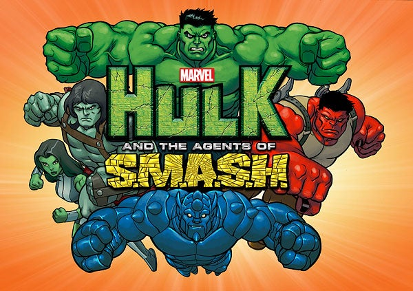 affiche Hulk and the agents of SMASH