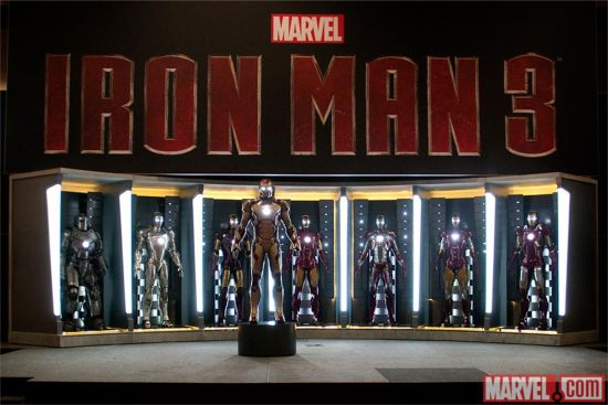 Iron Man 3 New Armor