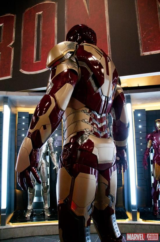 Iron Man 3 new armor back