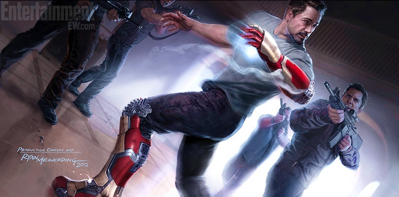 Iron Man Extremis Armor Iron Man 3 Iron Man 3 Concept Art First