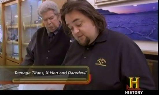 Pawn Stars Teenage Titans