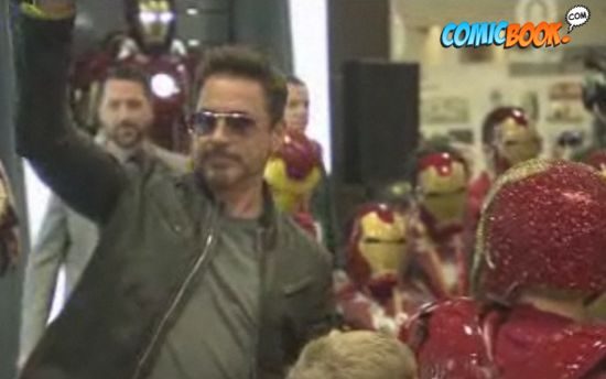 Robert Downey Jr. Iron Man Kid's Costume Event