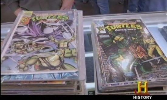 Teenage Mutant Ninja Turtles on Pawn Stars