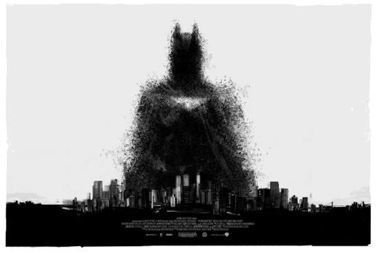 The Dark Knight Rises Comic-Con Poster