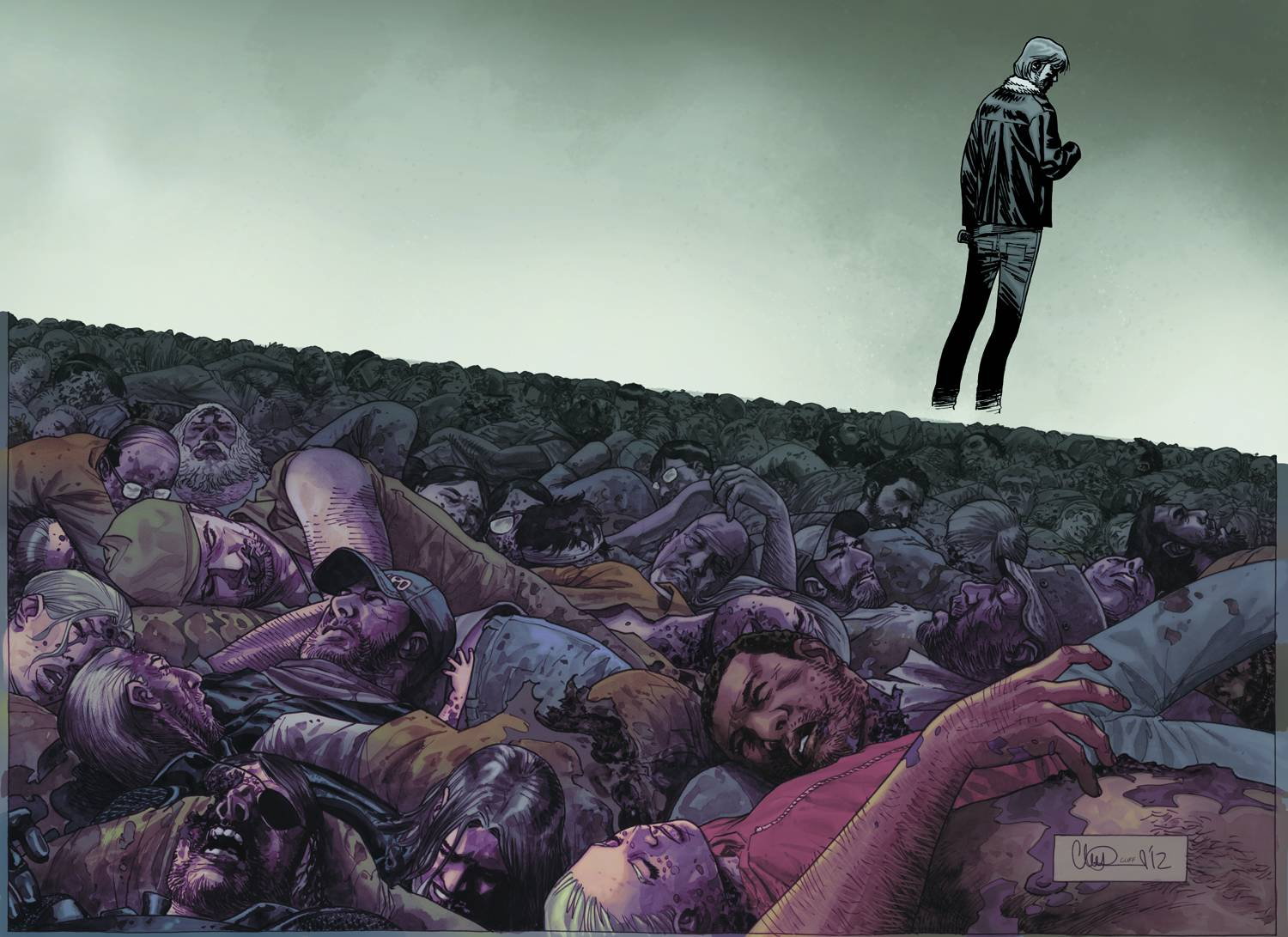 Review The Walking Dead 100