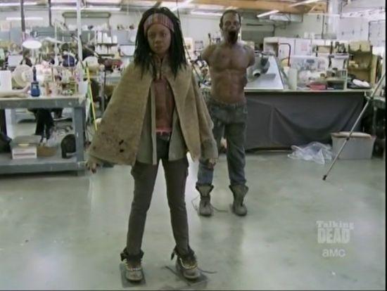 Walking Dead Michonne Comic-Con