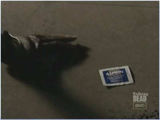 Walking Dead Season 3 Aspirin