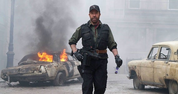 Chuck Norris Won't Return for Expendables 3