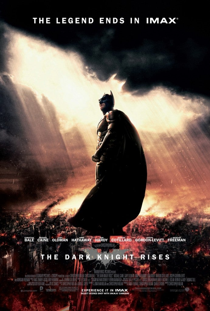 Dark Knight Dominant; Final Friday Box Office Less Competitive