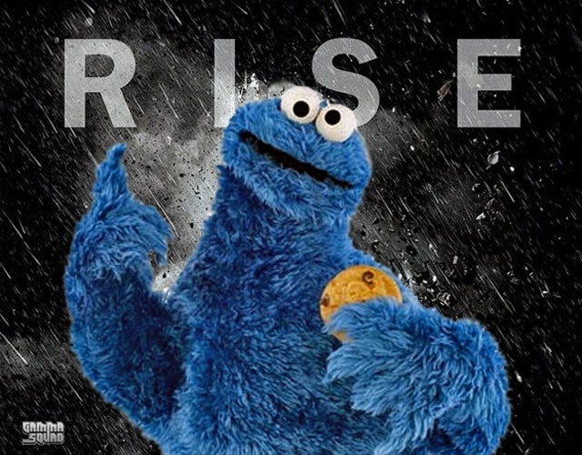 The Dark Knight Rises Parody: Cookie Monster's Batman Voice