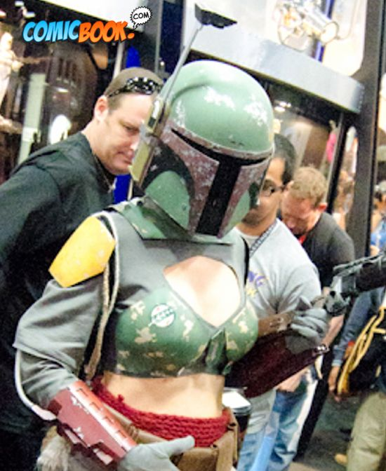 Cosplay Lady Boba Fett