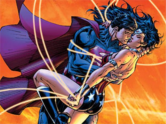 JLA Vol4 (Justice League of America Vol II) Superman-and-wonder-woman-man-of-steel