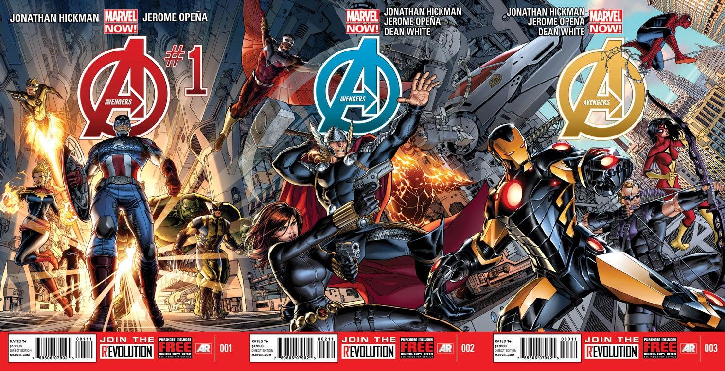 Avengers #1 by J. Scott