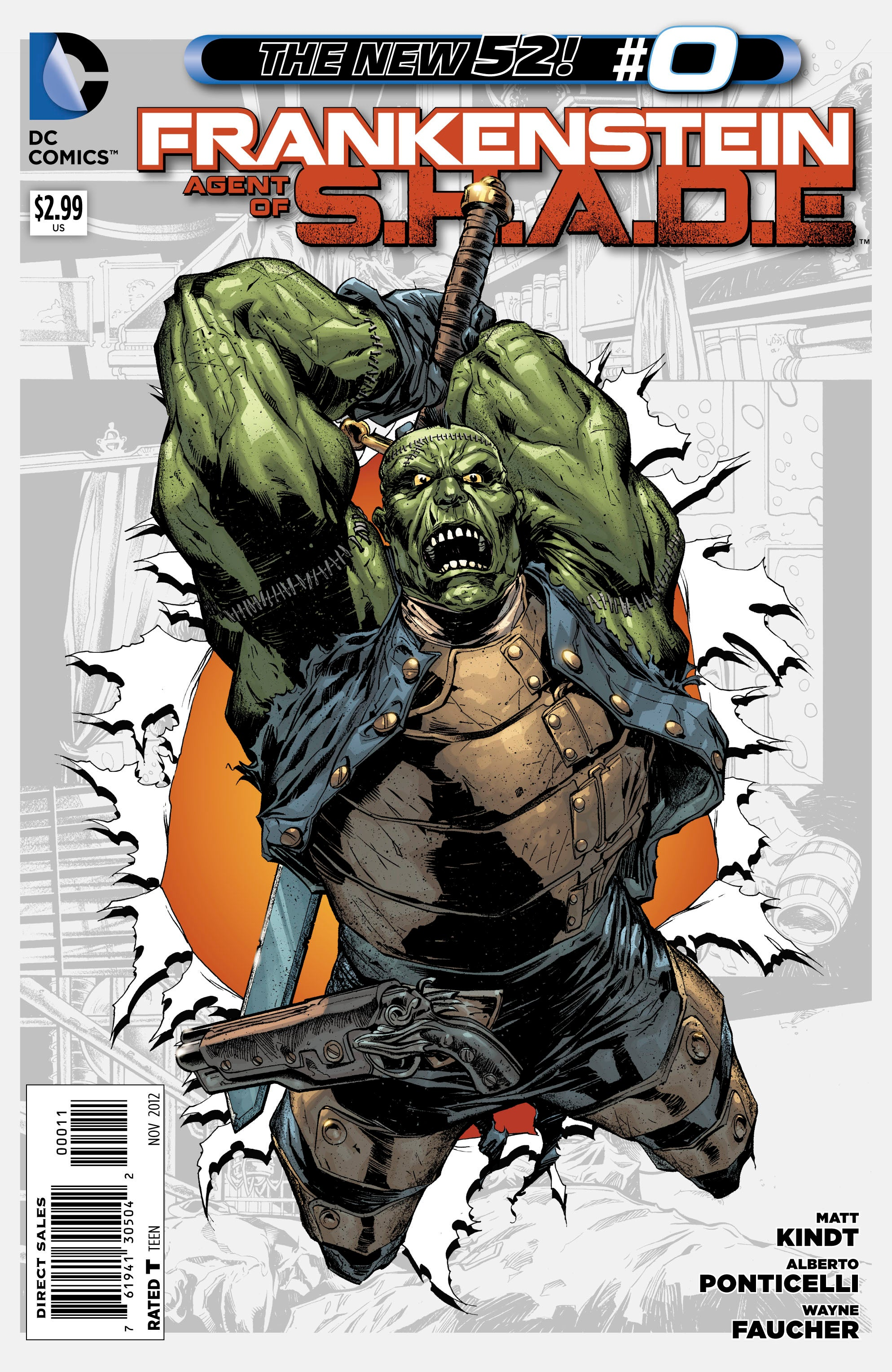 dc comics preview  frankenstein  agent of s h a d e   0