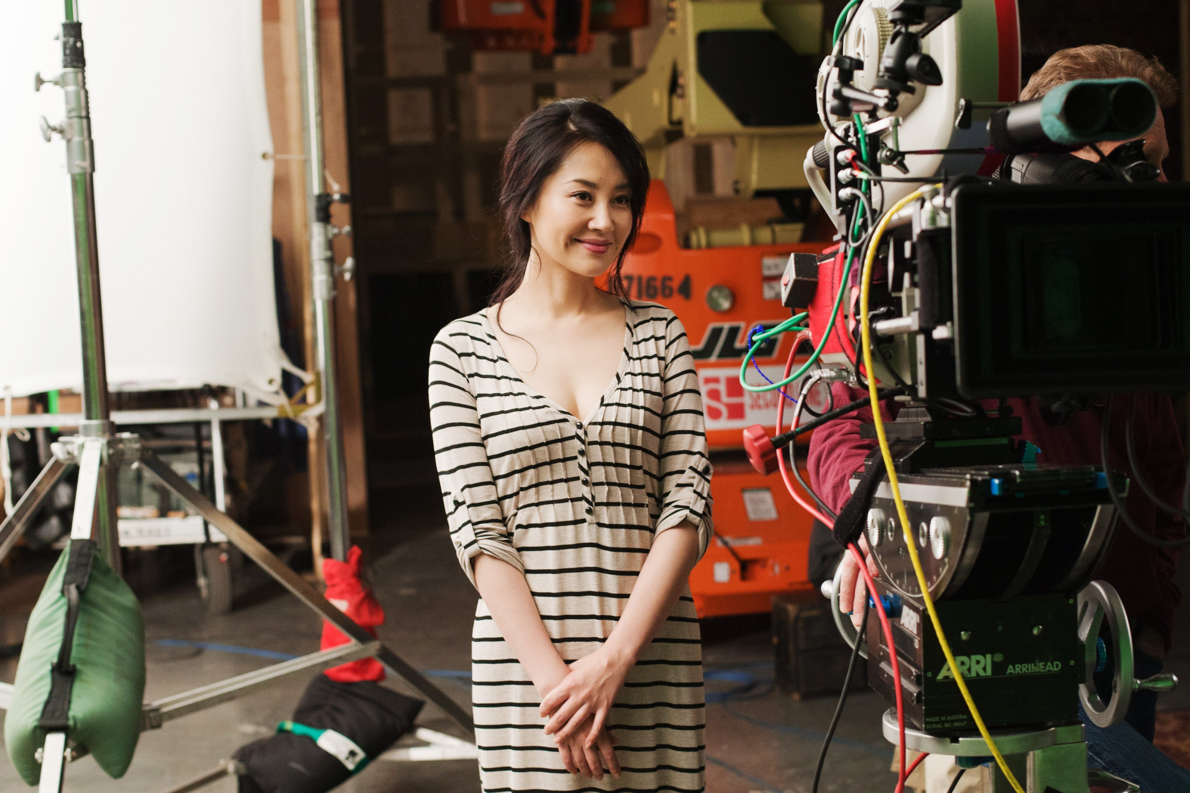 Looper Behind The Scenes Photos From Actress Summer Qing