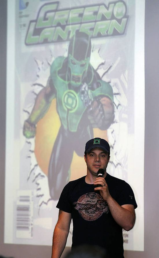 Geoff Johns Green Lantern