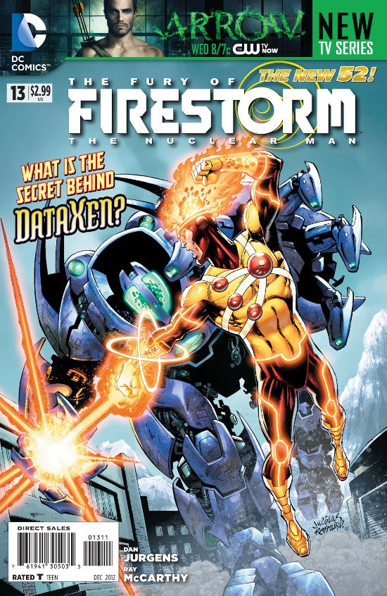 dc comics exclusive preview  the fury of firestorm the