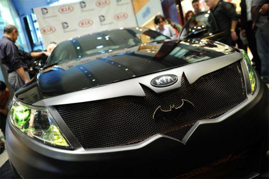 Real-Life Batmobile From Kia Kicks Off Justice League Cars