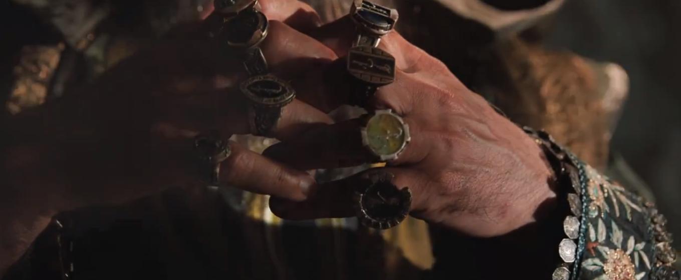 "Iron Man 3 Mandarin's Rings Have ""a Different Backstory. Bubinga Rings. Rounded Square Engagement Rings. Aqua Blue Wedding Rings. Brilliant Cut Rings. Brass Wedding Rings. Halo Setting Engagement Rings. Setting Side Wedding Rings. Chrysoprase Rings"
