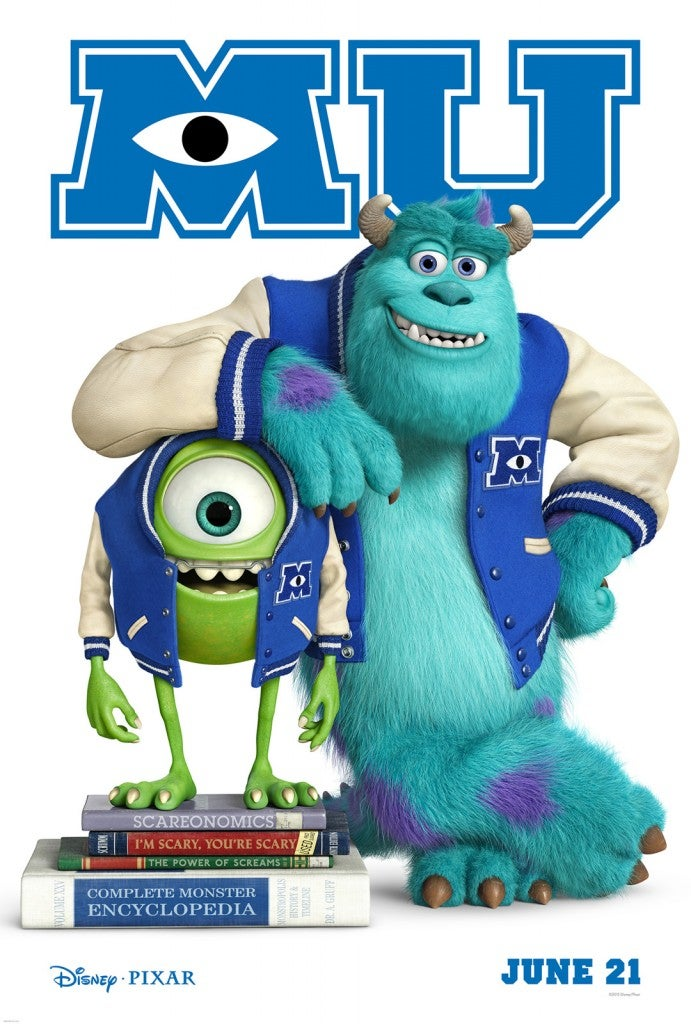 Monsters University Movie Poster Released