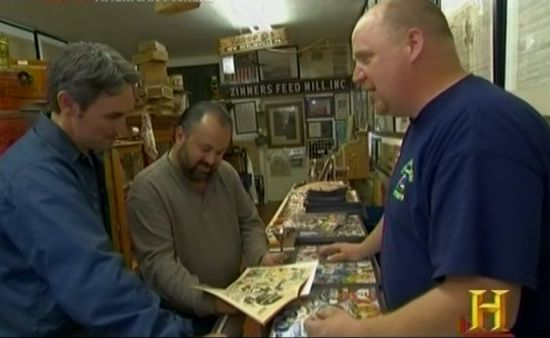 American Pickers Comic Books