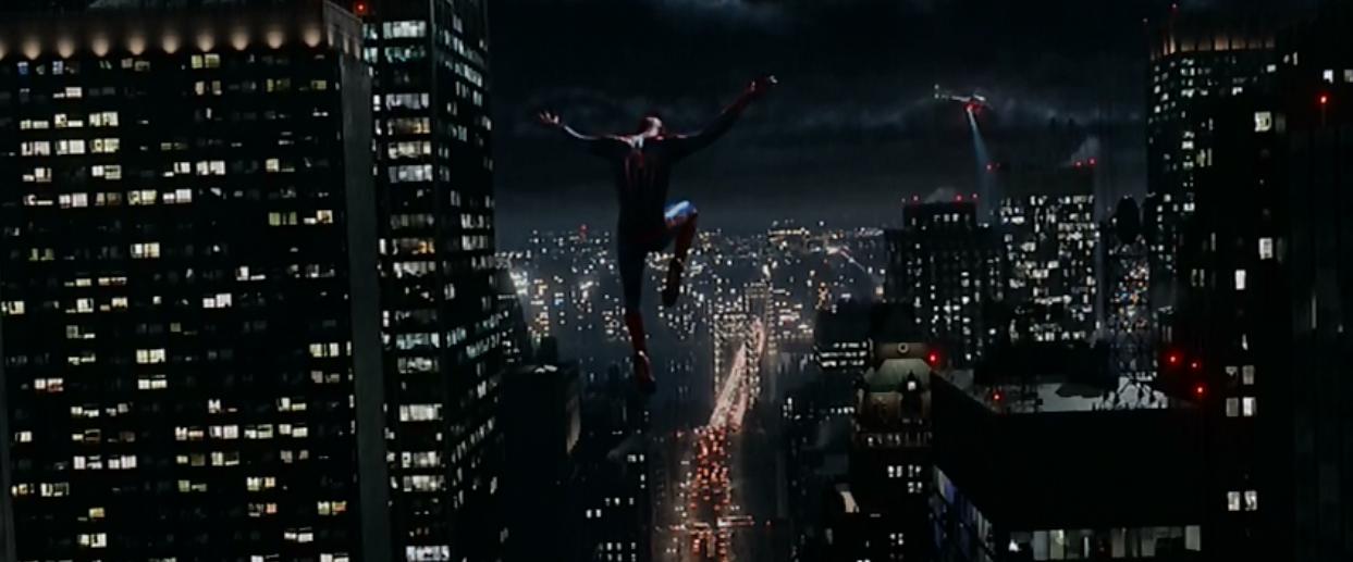 Swinging spider-man screensaver