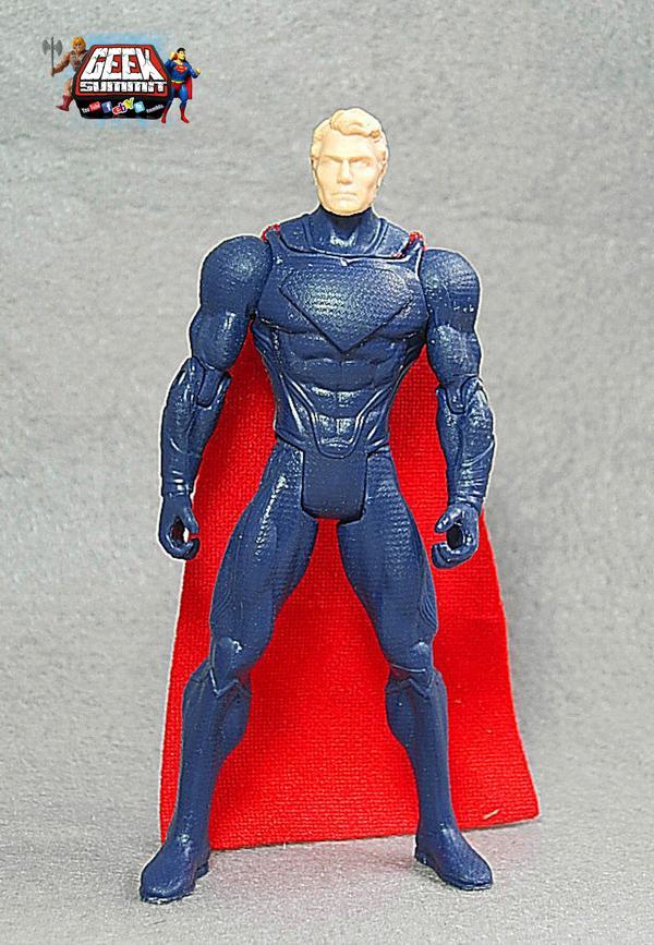Man of Steel Action Figure Sculpt Leaks on eBay