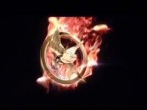 Hunger Games Catching Fire logo