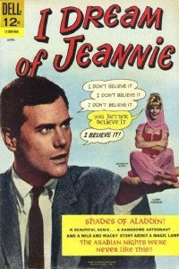 I dream of Jeannie Larry Hagman comic book