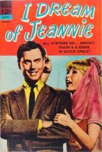 I Dream of Jeannie Larry Hagman Comic Book 2