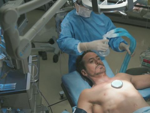 Iron Man 3 Chinese surgery