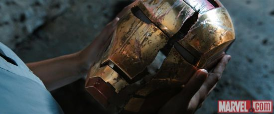 Iron Man 3 cracked mask
