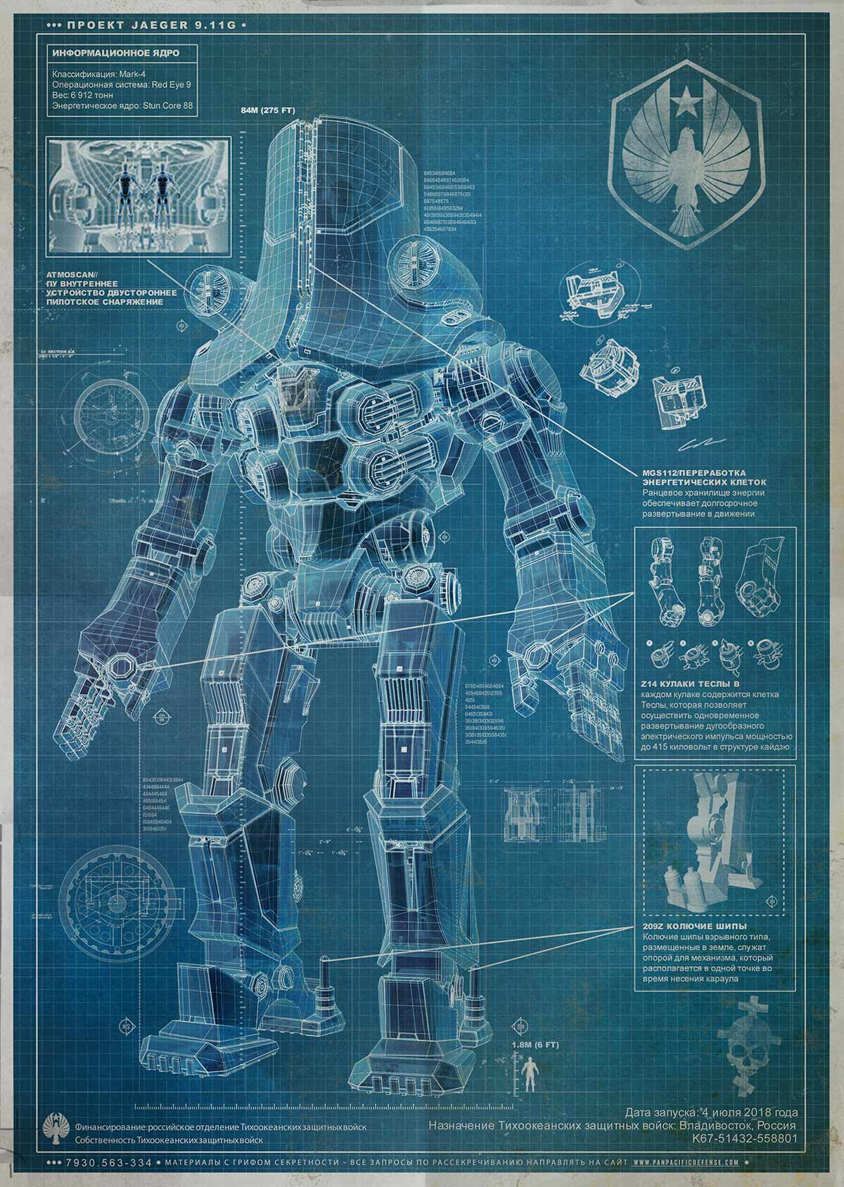 Pacific Rim: Two More Jaegers Revealed and More