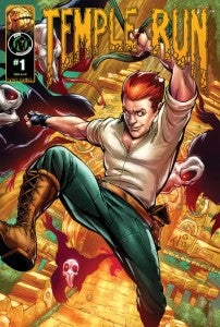 Temple Run Comic Book Cover