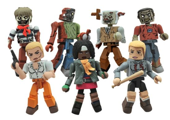 The Walking Dead minimates specialty