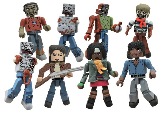 The Walking Dead Minimats TRU