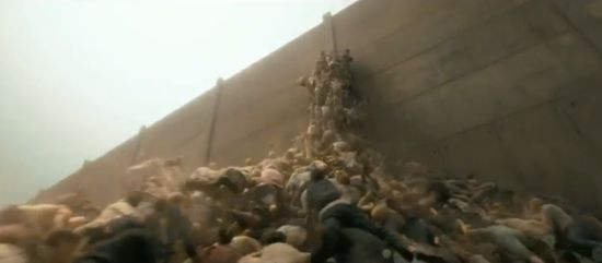 World War Z zombie pyramid