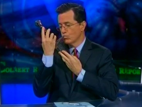 Stephen Colbert The Hobbit Cameo