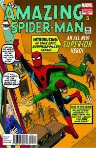 Amazing Spider-Man #700 Steve Ditko variant