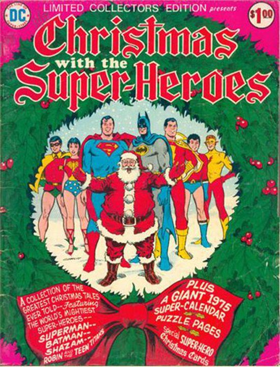 Portadas Navideñas Christmas-cover-christmas-with-the-superheroes