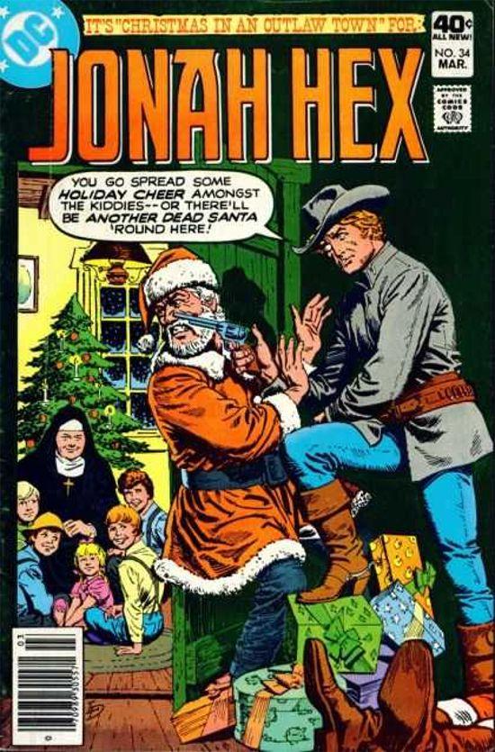Top Five Weirdest Christmas Comic Book Covers