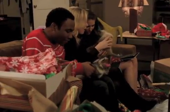 Community Debuts a Christmas-Themed Clip