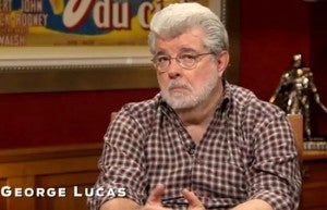 George Lucas Star Wars video