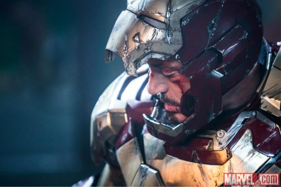 Iron Man 3 Battered and B