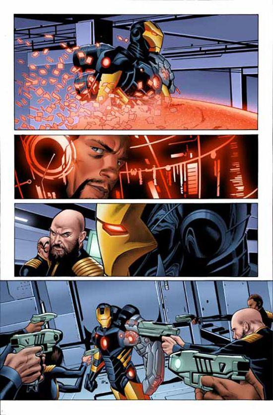 Iron Man #5 Page 1
