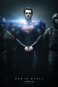 Man Of Steel In Handcuffs poster