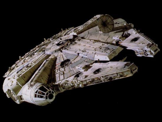 star wars fans building a millennium falcon. Black Bedroom Furniture Sets. Home Design Ideas