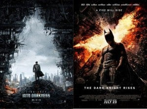 Str Trek Into Darkness The Dark Knight Rises fire