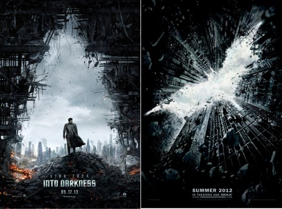 Star Trek Into Darkness copies The Dark Knight Rises